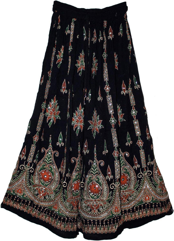 Fashion of India Max 48% OFF Women's Long Bohemian Same day shipping Maxi - Skirt Gypsy Hippie