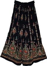 Fashion of India Women's Long Bohemian Maxi Skirt - Gypsy Hippie Boho Chic Style Dress