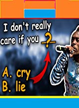 Can you guess the MISSING WORD in the : LYRICS of Popular Songs (Part 2) - Music QuiZ (English Edition)