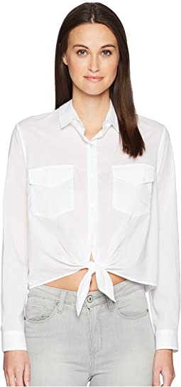 Shirt with Bow Details