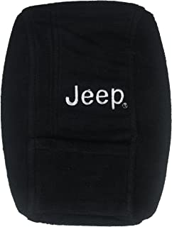 Seat Armour Officially Licensed Custom Fit Center Console Cover with Jeep Embroidered Logo for Select Jeep Wrangler Models...