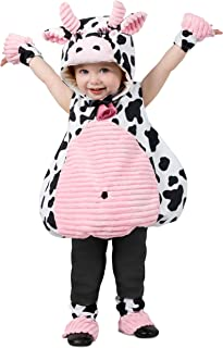 Pink Belly Cow Baby/Toddler Costume