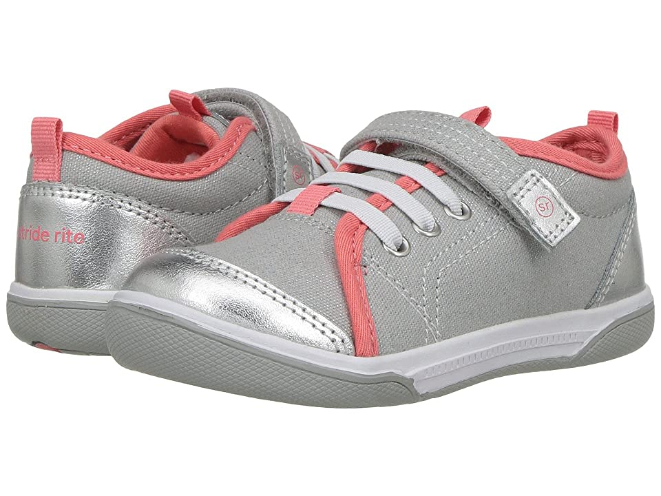 Stride Rite Dakota (Toddler) (Light Grey) Girl