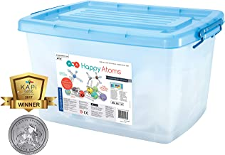 Happy Atoms Magnetic Molecular Modeling Educator Classroom Bundle | 5 Sets of 50 Atoms | Create 17, 593 Molecules | 216 Activities | Free Curriculum & App Ios, Android, Kindle | Student Tested