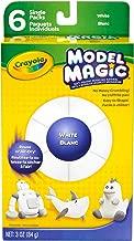 Crayola Model Magic Single Packs, White blanc, 3 Oz