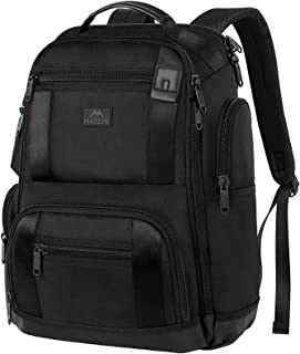 MATEIN Extra Large Backpack, Business Travel Carry on Backpack Fit 17 Inch Laptops for Men Women, Durable Professional Lar...