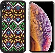 Liili Premium Apple iPhone Xs Aluminum Backplate Bumper Snap Case Ukrainian Ethnic Seamless Ornament 56 Vector Photo 5449076
