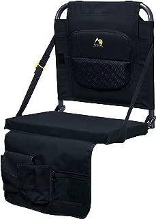 GCI Outdoor BleacherBack Lumbar Stadium Seat with Padded Backrest