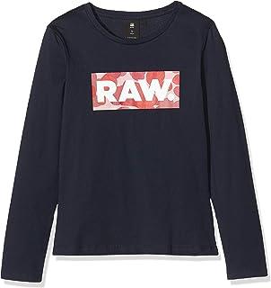 G-STAR RAW Sp10606 LS tee Camiseta de Manga Larga para Niñas