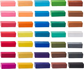 Soft Pastel, Easy to Use Colored Pastels for Blending, Gradation, Texture and More, for Artists, Beginners, and Hobbyists - 36 Vibrant Vivid Colors