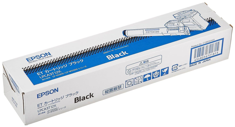EPSON ETカートリッジ ブラック LPCA3T12K