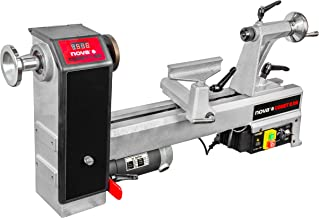 "Nova 71118 Comet II DR - Midi Lathe Flexible Woodworking System, 12"", Powerful Electronic 3/4 HP variable speed"