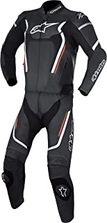 Alpinestars Motegi v2 Leather Two-Piece Suit (54) (Black/White/Red)