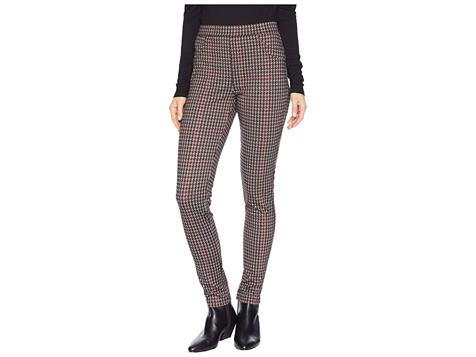 Sanctuary Grease Leggings (Large Fall Houndstooth) Women