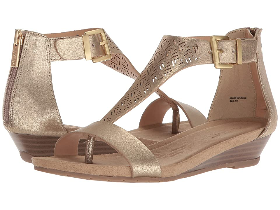 Kenneth Cole Reaction Great Clip 3 (Soft Gold Smooth) Women