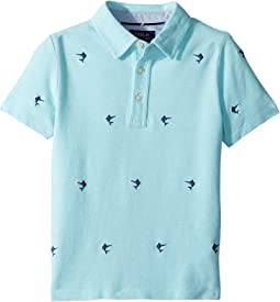Polo Ralph Lauren Kids - Knit Cotton Oxford Shirt (Little Kids/Big Kids)