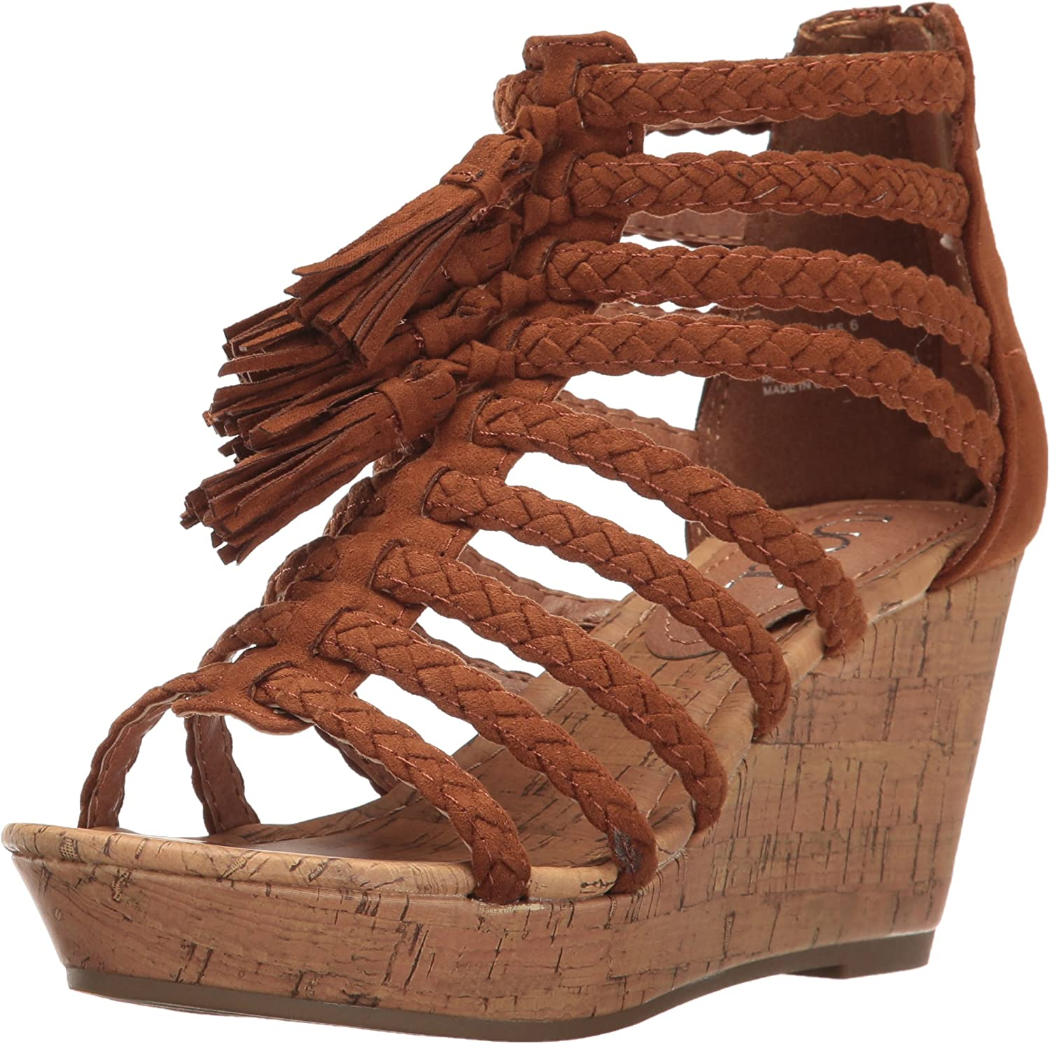 Sugar Womens Jungles Wedge Sandal