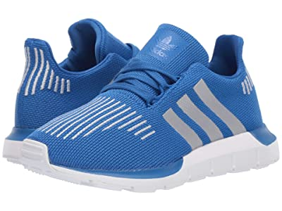 adidas Originals Kids Swift Run J (Big Kid) (Blue/Silver/Black) Boys Shoes
