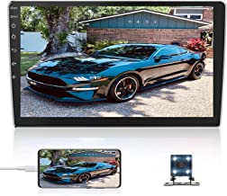 10.1Inch 2.5D HD Double Din Car Stereo Radio Receiver, Android Touch Screen MP5 Multimedia, Support GPS Navigation Bluetoo...