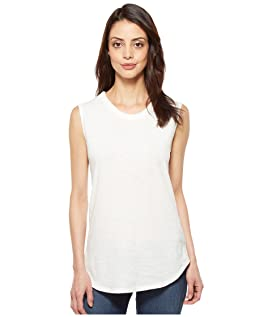 Inside Out Slub Sleeveless T-Shirt