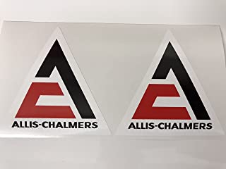 2 Allis Chalmers Decals by SBDdecals.com