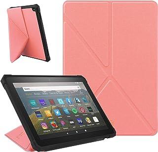 comprar comparacion ZhaoCo Funda Compatible con Kindle Fire HD 8 2020 y Fire HD 8 Plus (10 ª Generación, Versión 2020), Carcasa Ligera de Cuer...