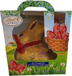 Lindt Gold Bunny Milk Chocolate & Milk Chocolate Truffle Eggs