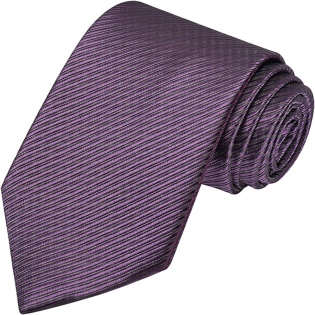 KissTies Mens Necktie Classic 4 years warranty Ties Stripe favorite Men For