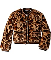 Dolce & Gabbana Kids - Eco Fur Jacket (Big Kids)
