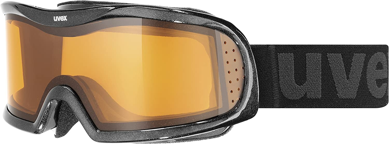 Uvex Skibrille Vision Optic l Black met.