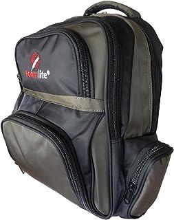Roamlite Mochila infantil – Mochila de primaria a secundaria tamaño A4 – 6 bolsillos y estuche a juego – Nylon 46 cm x32 x...