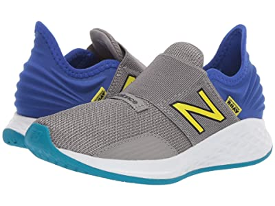 New Balance Kids Fresh Foam Roav (Little Kid) (Marblehead/UV Blue/Sulphur Yellow) Boys Shoes