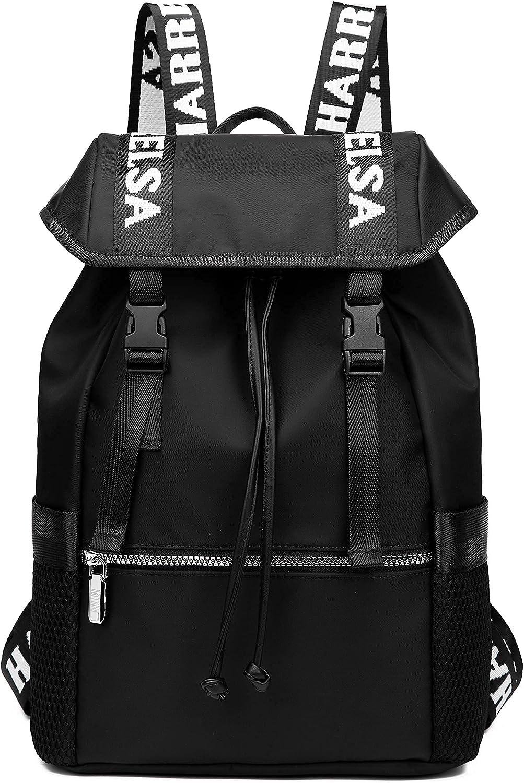 HARRELSA Medium Flap Ranking TOP7 Backpack for Men Manufacturer regenerated product Women Fashion Slim Rucksac