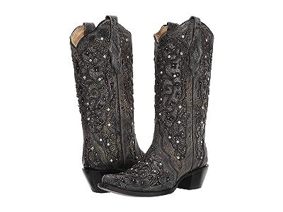 Corral Boots A3672 (Grey) Cowboy Boots