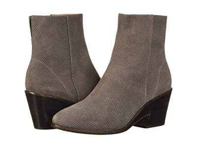 Gentle Souls by Kenneth Cole Blaise Wedge Bootie (Concrete Suede) Women