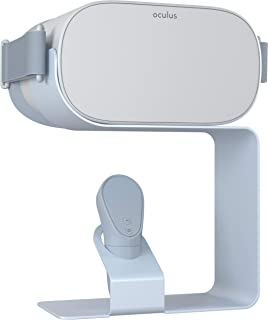 $29 » Skywin Display Stand for Oculus Go - Compact Aluminum Stand Secures and Displays Your VR Headset and Controller