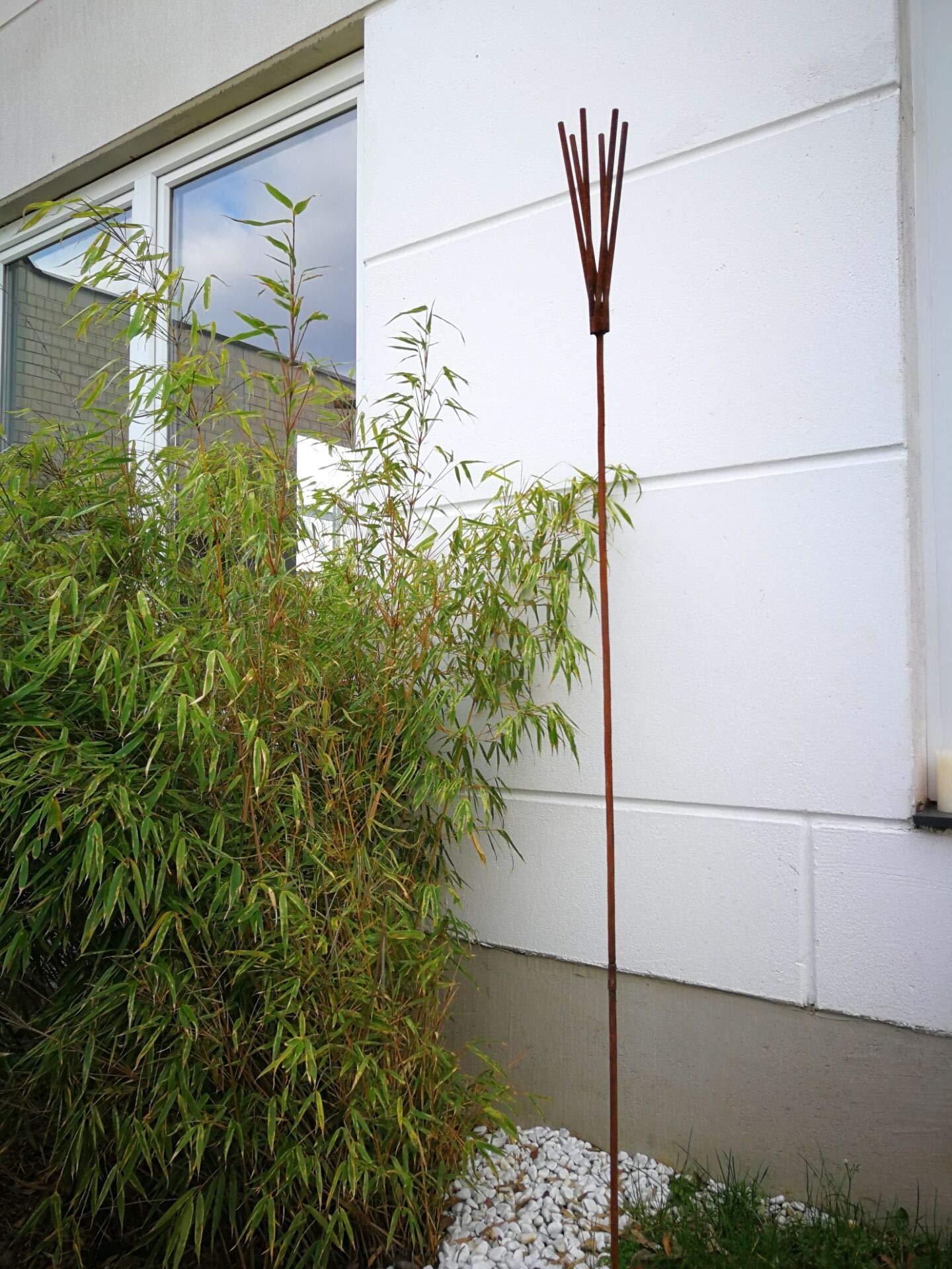 Zen Man - Figuras Decorativas para jardín (180 x 10 x 10 cm, Hechas a Mano): Amazon.es: Jardín