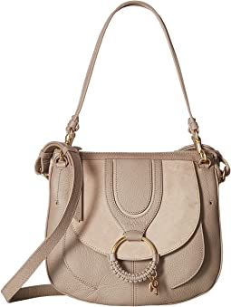 Hana Suede & Leather Tote
