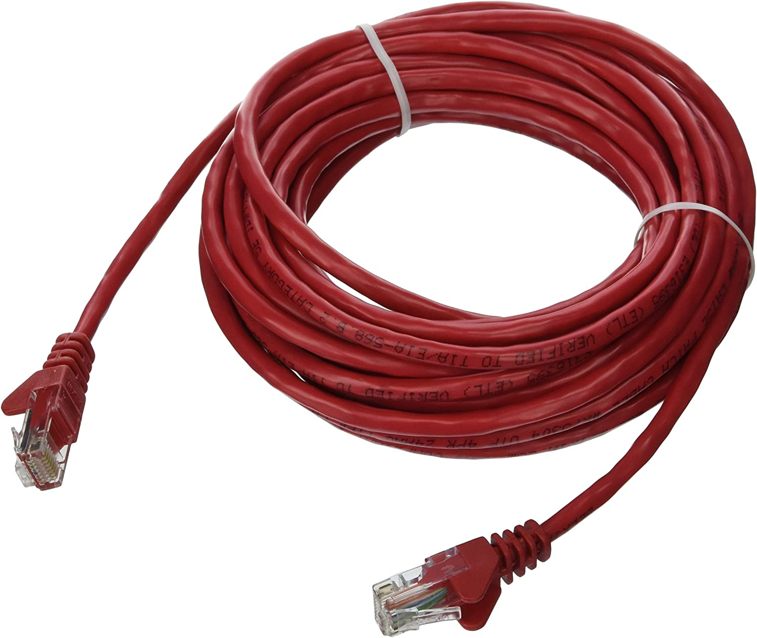 Red 350MHZ 1Gbps Network//Internet Cable BoltLion BL-694755 Snagless Cat5e RJ45 Ethernet Cable 1 Feet 4 Pack Professional Series