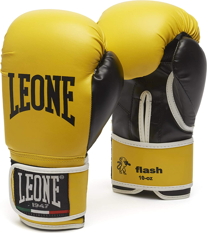 LEONE 1947 Flash Boxing Gloves Uz 在庫一掃 14 保証 - Black