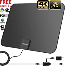 2019 Upgraded? HDTV Antenna Indoor Digital TV Antenna, 120 Miles Range HD Antenna with Amplifier Signal Booster and 13FT Coaxial Cable - Extremely High Reception