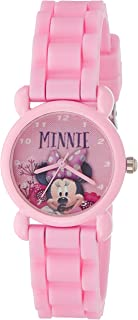 Disney Analog Multi-Colour Dial Girl's Watch - AW100495