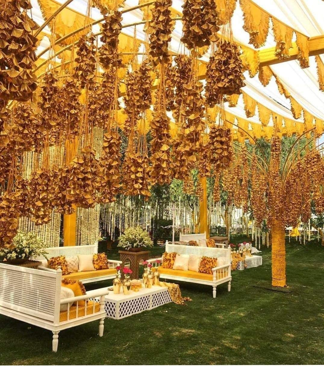 Vaaridhi Gota Flowers Hangings 2.5ft Long New popularity Wedding for Now on sale Decoration