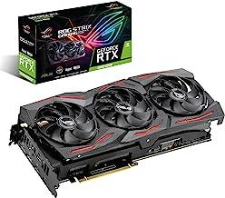 ASUS ROG Strix GeForce RTX 2080 Super Advanced Overclocked 8G GDDR6 HDMI DP 1.4 USB Type-C Gaming Graphics Card (ROG-STRIX-RTX-2080S-A8G)