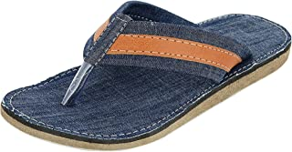DECENT Men's House Flip Flops and House Slippers - 7 UK Blue
