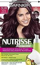 Garnier Nutrisse Nourishing Color Foam, 3UR Deep Ultra Intense Red