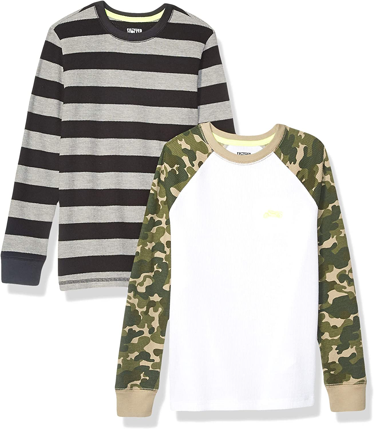Spotted Zebra Boys Light-Weight Hooded Long-Sleeve T-Shirts Brand