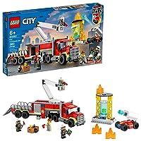 LEGO City Fire Command Unit 60282 Building Kit 380 Pieces Deals