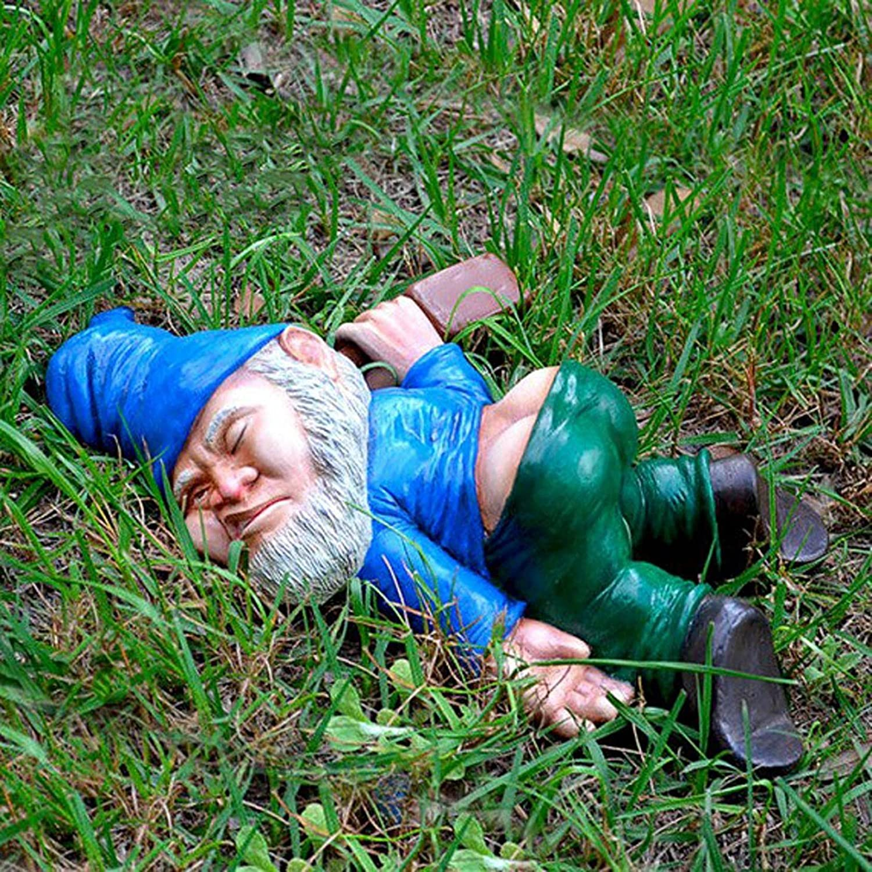 SZITOP Creative Drunk Popular product Gnomes Stat Bombing new work Garden Dwarf Decoration