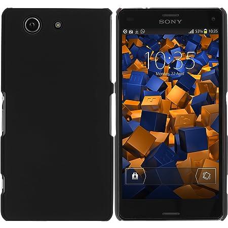 Mumbi Hülle Kompatibel Mit Sony Xperia Z3 Compact Handy Hard Case Handyhülle Schwarz Elektronik